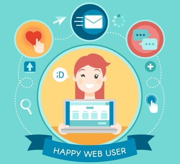 Web User With A Big Smile 23 2147542741